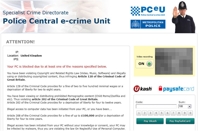 PC E Crime unit removal